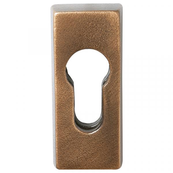 Bronze PZ-Schutzrosette 0056.B3