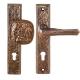 Bronze Drückergarnitur 3620-1120.B3
