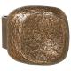 Bronze Stoßgriff mit Griffplatte 3700.B3