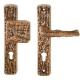 Bronze Drückergarnitur 8560-1260.B3