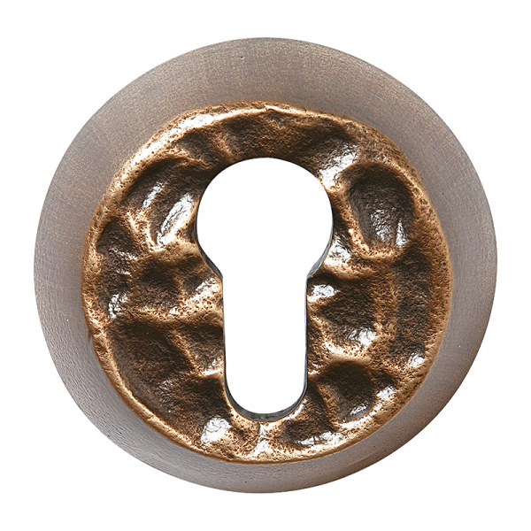 Bronze PZ-Schutzrosette 9051.B3