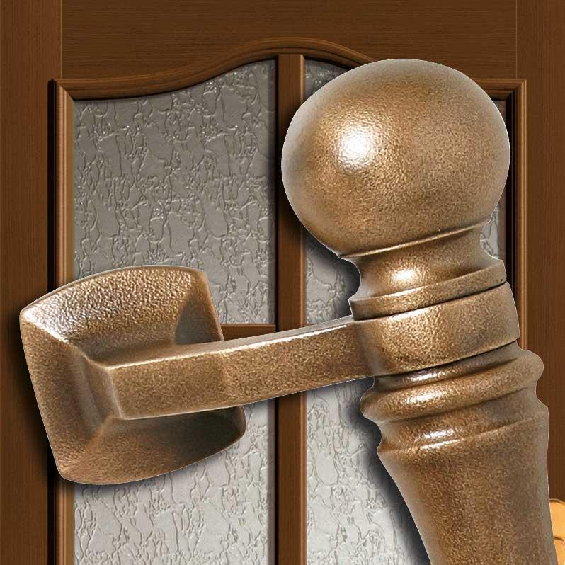 Bronze Haustür-Türgriff
