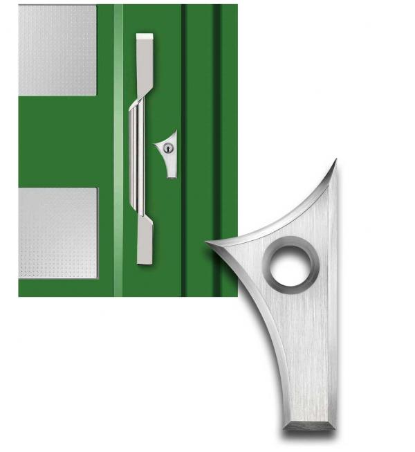 Designmitrenas PZ-Kratzschutzrosette Ikaros linksweisend
